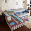 Супермаркет] [Jingdong Fangruo (FANROL) дома мебель подушки дивана крышку дивана подушку дивана крышка скольжения все сезоны установить крышку дивана полотенце полный дуплекс брайта окна ветер Tansins 90 * 90см