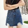 VIVAHEART талии отверстие хит цвет джинсовой юбки женская юбка юбка дикий VWQZ174247 синий A-M vivaheart талии отверстие хит цвет джинсовой юбки женская юбка юбка дикий vwqz174247 синий a m