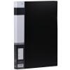 Прибыль (KINARY) AF602 A4 одного кармана папки с сильным черным dataline 4 кармана