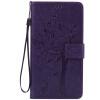 Purple Tree Design PU кожа флип крышку кошелек карты держатель чехол для HUAWEI MATE 8 pink tree design pu кожа флип крышку кошелек карты держатель чехол для samsung c5