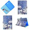 Белые цветы Стиль Классический откидная крышка с подставкой Функция и слот кредитной карты для Samsung GALAXY Tab A 10.1 T580 белые цветы стиль классический откидная крышка с подставкой функция и слот кредитной карты для samsung galaxy tab a 7 0 t280