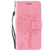 Pink Tree Design PU кожа флип крышку кошелек карты держатель чехол для SAMSUNG C5 pink tree design pu кожа флип крышку кошелек карты держатель чехол для samsung s7