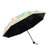 Да ладно зонтиклистья лето ВС зонтик творческий сверхлегкой складной зонт зонтик УФ зонтик складной зонты женский подарочной зонты