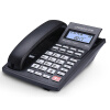 中诺(CHINO-E)W558 固定电话机有绳座机办公室家用有线座机远距离通话 黑色