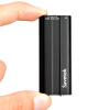 Savetek 2017 New Arrival Mini Clip USB Pen 16GB Voice Activated Digital Audio Voice Recorder Mp3 Player 50hours Recording Black купить