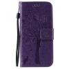 Purple Tree Design PU кожа флип крышку кошелек карты держатель чехол для IPHONE 6 purple tree design pu кожа флип крышку кошелек карты держатель чехол для huawei mate 8