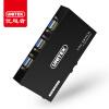 Улучшенный человек (UNITEK) KVM-переключатели 4 Мульти USB конвертер порт VGA четыре порезать экран дисплея делится клавиатурой 4 в U-8710