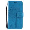 Blue Tree Design PU кожа флип Обложка Кошелек Карты Держатель чехол для SAMSUNG J7 чехол обложка белый флип для samsung s5230