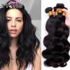 Продукты волос волос YYONG бразильские волосы 4 комплектов волос 8A не обработанные девственные волосы дешево бразильские волосы 4 ПК освобождают перевозку груза где ночью алкоголь дешево