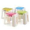 Пластиковый стул Rimangle Medium Smile Пластиковый стул Домашний стул SM-2054 Цвет стула camellia пластиковый стул стул стул полосы джамбо 46 6cm высокие fangdeng 0838