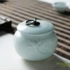 Changnan керамические чайные горшки Jingdezhen фарфоровые банки чайное хранилище чай чай банку резервуар большой лотос