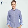 POLO SPORT рубашка плед рубашка с длинным рукавом Slim fashion wave мужская нижняя рубашка 71LA15506 синий L рубашка