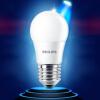 Philips (PHILIPS) LED Лампа 5W E27 6500K большого винта белых одиночные палочек светильник потолочный philips led