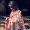 Yimihuasha (yimihuasha) Женские шарфы весной и летом солнце шарфы платок двойного назначения шарф цветные облака темно-красного края