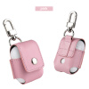 MyMei 2017 PU Leather Protective Case Pouch Charging Bag W/Keychain For Apple AirPods