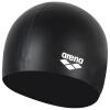 Ариана (арена) само Jingdong шапочка для плавания силиконовая водонепроницаемая крышка плавание удобная полуторная высокой упругой унисекс волосы уха ACG210-BLK Черный