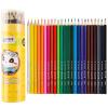广博(GuangBo)24色彩色铅笔/彩铅/填色笔筒装熊猫款QB9566 智高(zhigao)时光色彩笔袋 小学生铅笔袋 zg 8563 颜色随机1件
