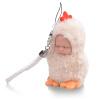 Бибер (Бибер) мини-серия Супер Мэн маленьких украшений спальные куклы умиротворить куклы плюшевых игрушек куклы моделирование детских игрушек 10CM высокой Мэн бархат абрикос курица Абердин абердин ангусская порода курганская область