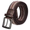 DouGuYan парусиновый плетёный эластичный мужской поясной ремень, с автоматической пуговицей douguyan 13 8l backpack