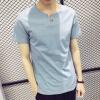 lucassa короткими рукавами футболки мужские шею футболки с короткими рукавами футболки мужчин черный XL 15040 футболки
