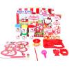 Hello Kitty HelloKitty мороженого цвета автомобиля грязь костюм девушка игрушка резиновой печать цветой грязь глина грязь KT-8601