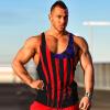 New Men's Fashion Sleeveless T-shirt Tank Top Vest майка sleeveless t shirt deha с кружевными вставками
