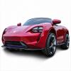 Смеясь куклы четверо детей электрический автомобиль дистанционного управления игрушечного автомобиля может сидеть люди красный бензин и краски