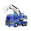 Сила Ли (LiLi) экскаватор мальчик номер игрушечный грузовик экскаватор модель свободного хода mc2 игрушечный детектор лжи