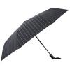 Мидо MAYDU джентльмен полосатый мужской деловой зонт автомат безопасности позиционер сложенный зонтик M3316 Black
