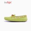 INTERIGHT пара обувь повседневная обувь плоские туфли вождения обувь Горох обувь зеленый 230 ярдов interight пара обувь повседневная обувь плоские туфли вождения обувь горох обувь зеленый 230 ярдов