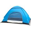 Эмблема Antelope палатка наружная палатка двойная скорость ручной бросок автоматическая палатка весна кемпинг пикник шатер синий