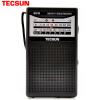 Немецкое здравоохранение (Tecsun) полнодиапазонное радио стерео звука телевизор пожилого пожилой портативный AM FM кампус радио полупроводник (черный) R218 портативные колонки с fm радио