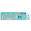 Fuld G9500S Красочные беспроводная клавиатура и мышь набор ноутбук настольный компьютер домашний офис клавиатура островного