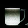 Chang South Jingdezhen керамические чайные чашки крышки чашки чая путешествия чашка двойной розовый слива