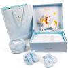 INTERIGHT новорожденного ребенка подарочные наборы десять светло-голубой 59см