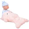Бибер (Бибер) акулы спящего ребенка кукла куклы умиротворить плюшевые игрушки куклы моделирования детские игрушки умиротворить порошок джд джой joy обезьяны плюшевые игрушки куклы no