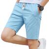 GEEDO casual брюки летние мужские повседневные шорты мода молодежные шорты 2201 светло-голубой L