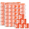 Goldfish бренд (GOLDFISH) отель туалетная бумага коммерческие рулон туалетной бумаги 3-слойный 80г * 120 (продажи FCL) скумбрия северная goldfish 250г