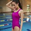 Speedo (спидометр) купальник женский сиамские треугольник купальник охватывают живот был тонкий Консервативные удобно и стильно фитнес серии Код -175cm фиолетовый воды 610287-37-40