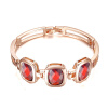 Yoursfs @ Золото Покрытие Rhinestone Кристалл Браслеты для женщин Розовое золото Цвет Charms День матери браслеты Браслеты моды B085R4 браслеты page 2