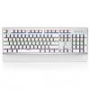 Так ik880 металлические механические клавиатуры 104 клавиши клавиатуры компьютерные игры, излучающие зеленый ось белый компьютерные игры