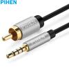 vivanco sound & image rca rca цифровой коаксиальный кабель 1 5 м Constant продукт (PIHEN) PH-YPX054 TV коаксиальный кабель 3,5 к RCA стерео аудио кабель адаптера 3,5 мм RCA SPDIF цифровой переключатель динамик усилителя кабелем длиной 3 м