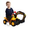 McKenzie большие строительные машины скользят на открытом воздухе игрушки для детей экскаваторах может сидеть KEJI экскаватор (электрические модели) 608A keji юбка брюки