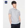 HLA легкая комфортабельная мужская рубашка ПОЛО, футболка с коротким рукавом, летняя новинка 2017 года новинка