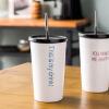 Творческая душа фарфора чай кружки керамические кружки кофе текст соломы чашка из нержавеющей стали чашки пить воду Пейте голубой офис кружки из императорского фарфора купить в спб