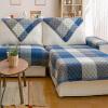 Зеленый тростник европейский стиль диван подушка диван диван стиль синий 90 * 180 см 1 шт установлен