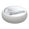 Jabra (Jabra) ECLIPSE один камень умного бизнес вызова универсального Bluetooth гарнитура наушником белой гарнитура bluetooth jabra pulse стерео черный [100 96100000 60]