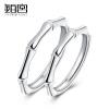 Platinum Palace сердца серебряные кольца 925 пар кольца мужские и женские пары отверстий можно регулировать
