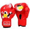 купить Отправить ребенок тхэквондо конкуренции боксерских перчаток боевых перчаток ребенок дышащих перчатки Санда перчатку синего песок недорого