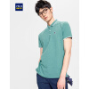 HLA элегантная мужская рубашка ПОЛО, футболка с коротким рукавом, летняя новинка 2017 года рубашка поло printio фк фшм